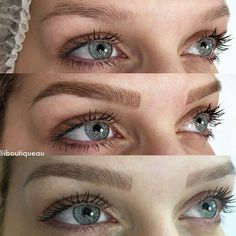 The 3 stages of 3D Feather Brows * Natural untouched brow * Immediately after the service * Fully Healed  These are the type of results you can expect with this amazing new service.   If you're tired of drawing,  shading or filling in your brows Every. Single. Day...this may be a good fit for you.  Results can last anywhere from 18mos to 2yrs! *image courtesy of @iboutiqueau * Service now available in Hampton Roads, VA. ..and surrounding areas!