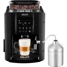 KRUPS Espresso Coffee Maker EA8160 Black By Thaidd >>> Visit the image link more details.