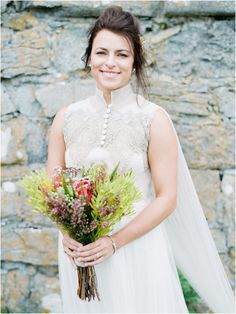 As Ever Photography / Bridal Portrait / Ireland Wedding / Maria Luisa Rabell Dress / Destination Wedding