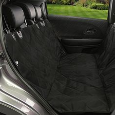 oxford heavy duty waterproof pet dog car hammock back seat cover mat coffee dog car hammock. Black Bedroom Furniture Sets. Home Design Ideas