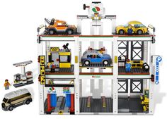 LEGO City Garage (Item: 4207). #legoCity