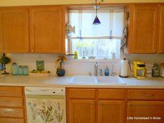 Kitchen Backsplash Re-do On A Budget