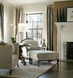 40 Gorgeous French Country Living Room Decor Ideas - Popy Home Living Room Decor Country, French Country Living Room, Cozy Living Rooms, French Country Decorating, Home And Living, Country French, Country Farmhouse, Country Décor, French Country Interiors
