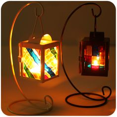 stained glass lantern - Google Search