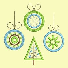 INSTANT DOWNLOAD Christmas Embroidery Applique Designs Set New Year Decor CHR005 - Machine Embroidery,sewing patterns,knitting patterns,crochet patterns,diy tutorials,step by step tutorials,vogue patterns,quilt patterns,pdf patterns