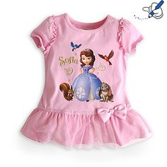 Sofia The First T-Shirt For Kids