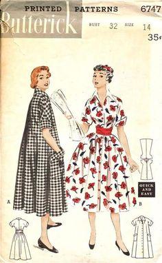 Butterick 1950s