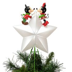 Mickey and Minnie Mouse Tree Topper | Share the Magic | Disney Store