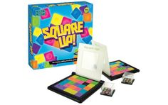 Shake the cube to find your puzzle, then the race is on to 'square up' and match your pattern.