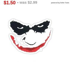 Total SALE Vinyl Sticker Statement Sticker Laptop Decal Laptop Decal, Laptop Stickers, Batman Stickers, Disney Characters, Fictional Characters, Decals, Unique Jewelry, Handmade Gifts, Vintage