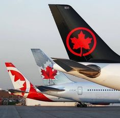 pretty nice 8d849 9be3e Air Canada tails. S