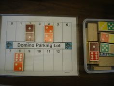 Domino Parking Lot to learn addition