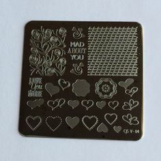 Clear Jelly Stamper Stamping Plate - Layers of LoVe