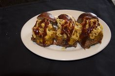 Sticky Fingers (3 Mini Pulled Pork Sliders, BBQ, Fried Onions,Yellow Cheddar)