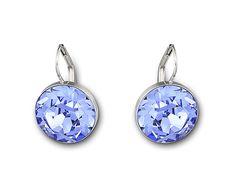 a38fe9771 Bella Light Sapphire Pierced Earrings - Jewelry - Swarovski Online Shop $75  Swarovski Bella Earrings,