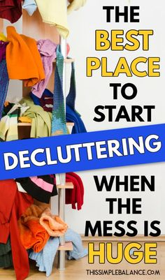 If the Clutter is Overwhelming, this is the BEST place to start decluttering! Get step by step instructions for THIS room with a free checklist! #decluttering Deep Cleaning, Cleaning Hacks, Arm And Hammer Super Washing Soda, Overwhelmed Mom, Messy House, Messy Room, House Smells, Window Cleaner, Organizing Your Home