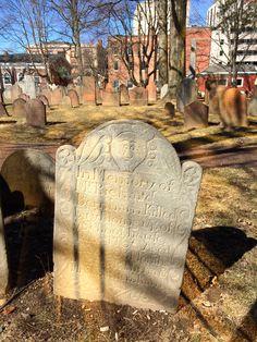 18th century gravestone
