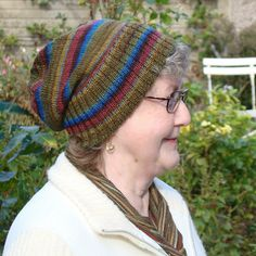 Ravelry: Sockhead Hat pattern. Fingering weight, G and D hooks.
