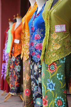 Batik Kebaya, Kebaya Dress, Batik Dress, Kimono, Indonesian Kebaya, Indonesian Women, Modern Kebaya, Kebaya Encim Modern, Malaysian Batik