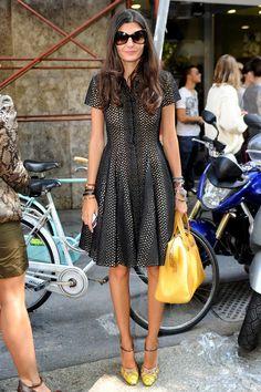 See Giovanna Battaglia's Masterful Italian Style Milan Fashion Week Street Style, Stockholm Street Style, Street Style Summer, Milan Fashion Weeks, Street Style Women, London Fashion, Street Styles, Rome Street Style, Style Fashion