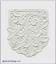 Lace in vogue: Zundt Design, Ltd.