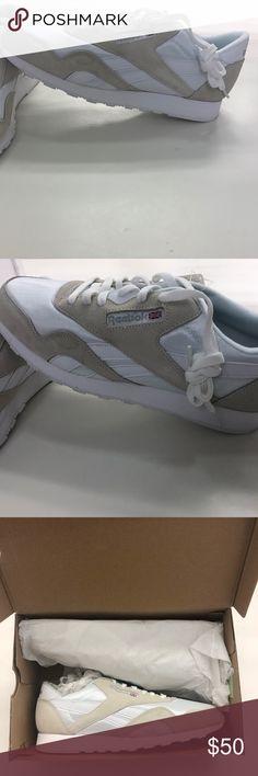 6448210b7cc Reebok Men s Classic CL Nylon Sneakers!