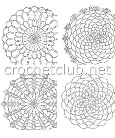Photo from album Irish Crochet Patterns, Crochet Doily Patterns, Crochet Mandala, Crochet Diagram, Crochet Chart, Diy Crochet, Crochet Doilies, Knitting Patterns, Crochet Stitches