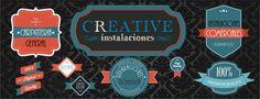 creative instalaciones , madera, decoracion, diseño, carpinteria....