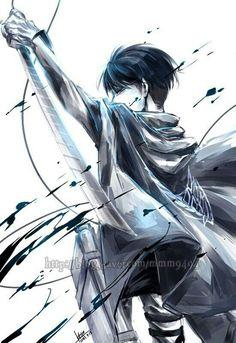 Levi // Attack on titan // Shingeki no kyojin