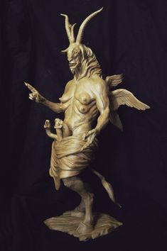 Baphomet, Dark Fantasy Art, Dark Art, Satanic Art, Legends And Myths, Arte Obscura, Demon Art, Macabre Art, Occult Art