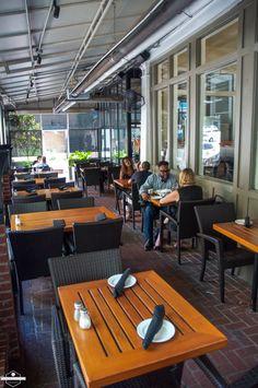 South City Kitchen Midtown Patio, Atlanta, GA.