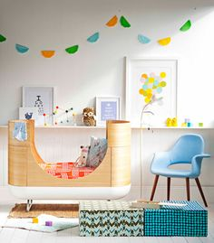 Gorgeous nursery.  If I had my time again this would be the cot I would get.  Love this cot and great use of colour and placement in this babies room.  Great ideas and inspiration.
