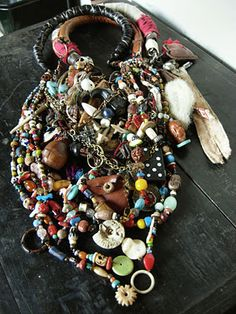 All three fabulous necklaces together
