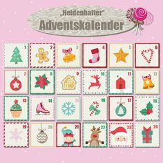 Heldentat Adventskalender -für alle newsletterabonnenten  www.heldentat-cakepops.blogspot.de/p/newsletter.html