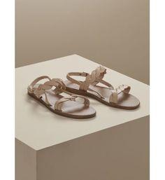 Sandales plates femme