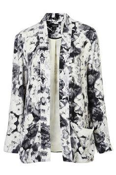 Topshop Co-ord Poppy Print Jacket