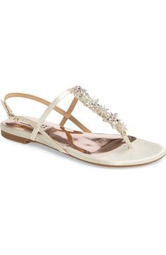 Badgley Mischkia Tate Crystal Sandal (Women) available at #Nordstrom