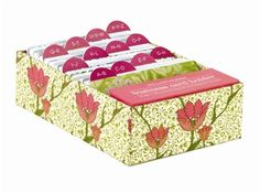 love this floral business card holder. keep business cards organized in style!