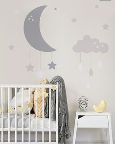 Grey lemon & white perfect gender neutral nursery inspiration