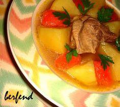 Berfend Ber: YEMEK FOĞRAFLARI - Kuzu Et Haşlama / DINING PHOTOS - Boiled Lamb
