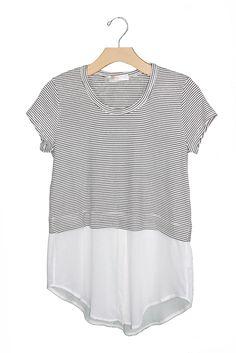 Stripe Top Blouse – Sweet Lupine
