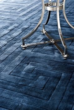 Carpet Baldwin sapphire 3x4m - Flamant by Laura