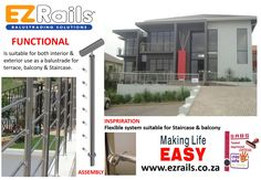 Stainless Steel Balustrade, Glass Balustrade, Architectural Features, Level 3, Hand Tools, Welding, Interior And Exterior, Terrace, This Is Us