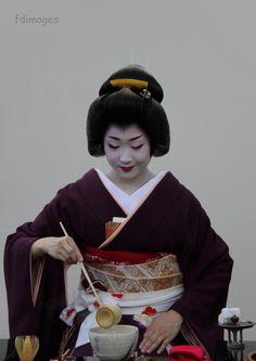 Kyoto images 京都 の 写真: Geiko Katsuru 勝瑠, macha