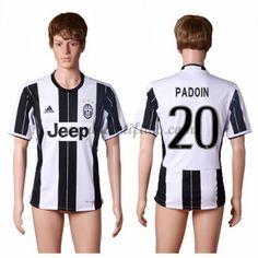 Juventus Fotbalové Dresy 2016-17 Padoin 20 Domáci Dres