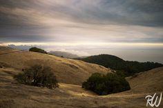 Cloudy Sunset, Mount Tamalpais State Park, California