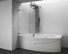 Vasca idromassaggio con doccia