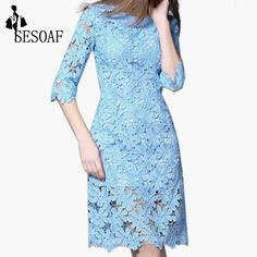 Vintage Elegant Soild Color Half Sleeve Knee-Length Lace Dresses Party Winter lace Dress vestidos dresses for large size women $28.68   => Save up to 60% and Free Shipping => Order Now! #fashion #woman #shop #diy  http://www.greatdress.net/product/vintage-elegant-soild-color-half-sleeve-knee-length-lace-dresses-party-winter-lace-dress-vestidos-dresses-for-large-size-women/