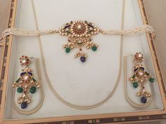 Kundan Jewelry,Choker Necklace, Indian Bridal Jewelry,Sabyasachi Inspired Silver Jewelry with gold plating,South Indian Choker Kundan Jewelry Choker Necklace Bridal Jewelry Sabyasachi Indian Wedding Jewelry, Bridal Jewelry, Indian Bridal, Wedding Necklaces, Wedding Earrings, Real Gold Jewelry, Gold Jewellery Design, Diamond Jewellery, Nice Jewelry