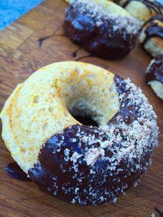Vanilla and lemon Pronuts